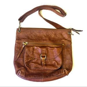 FOSSIL Genuine Leather Brown Purse! ❤️